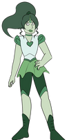 FA:: Sailor Gems - Sailor Jade by drazzi