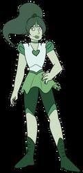 FA:: Sailor Gems - Sailor Jade by drazzi