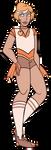 FA:: Sailor Gems - Sailor Morganite by drazzi