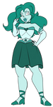 FA:: Sailor Gems - Sailor Aquamarine by drazzi