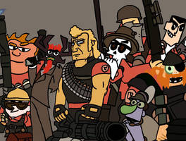 Cartoon Fortress 2 by TheTitan99