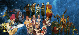 Voltron, Thundercats, Legend Of Korra And He-man by coolkat122