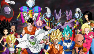 Dragon Ball Super by coolkat122