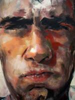 spaguetti portrait by aTomsks