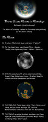 How to Make Planets in Photoshop by ArdathkSheyna