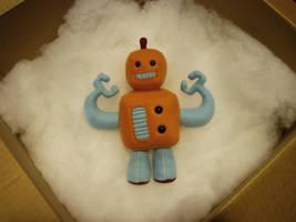 An Ethereal Robot by vickangaroo