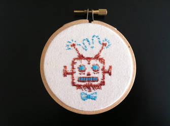 Handsome Robot 01 by vickangaroo