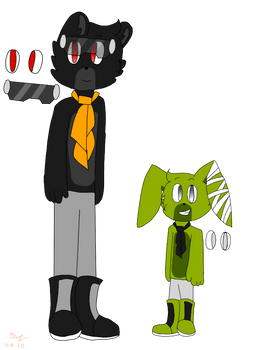 Nightmare Plushtrap Fnaf Riders Au Ref By Fayrize On Deviantart