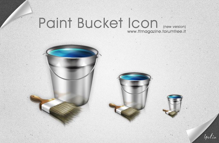 Paint Bucket Icon by KeyMoon