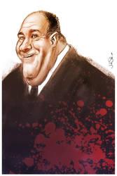 Tony Soprano by johnshine