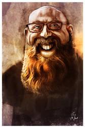 Sam Corum, Master of Beard by johnshine