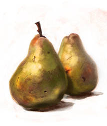 Pear Study by johnshine
