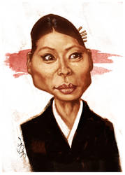 Lucy Liu as O-Ren Ishii by johnshine