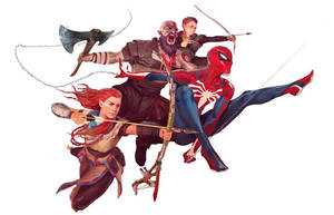 The PlayStation Avengers by dannydc1197