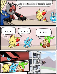 Starter X and Y stupid? Meme by LadyMaid-of-Pokemon