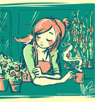 flora shoppe by MechaBerry