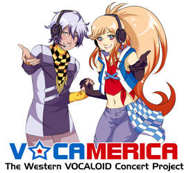 VOCAMERICA T-shirt Design by AkiGlancy