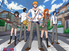 BLEACH - Here We Are by Jennaris