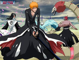 BLEACH - B A N K A I by Jennaris