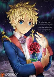 The Little prince - Ma rose by Jennaris