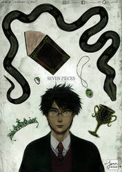 HARRY POTTER - SEVEN PIECES by Jennaris