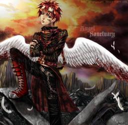 Elemental Angel of Fire by Jennaris