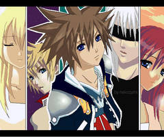 Kingdom Hearts II by Jennaris