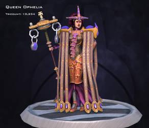 Queen Ophelia by Cross-Kaiser