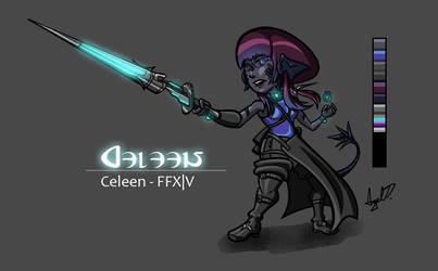 FFXIV - Celeen by Cross-Kaiser