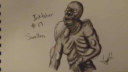 Inktober # 17 - Swollen by Cross-Kaiser