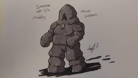 Inktober # 23 - Muddy by Cross-Kaiser