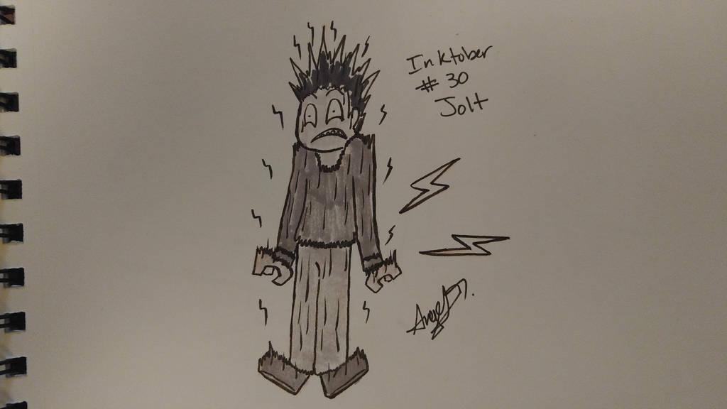 Inktober # 30 - Jolt by Cross-Kaiser