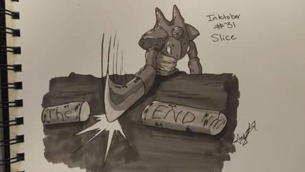 Inktober # 31 - Slice by Cross-Kaiser