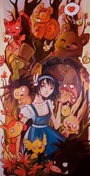 Alice in filobosco by Ariochdesign