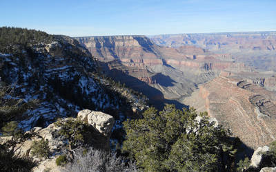 Grand Canyon in Winter by lunaticblade