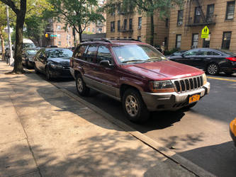 Red 2002 Jeep Grand Cherokee by Hubfanlover678