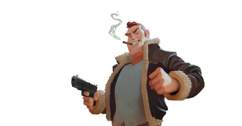 Gunman by dawor