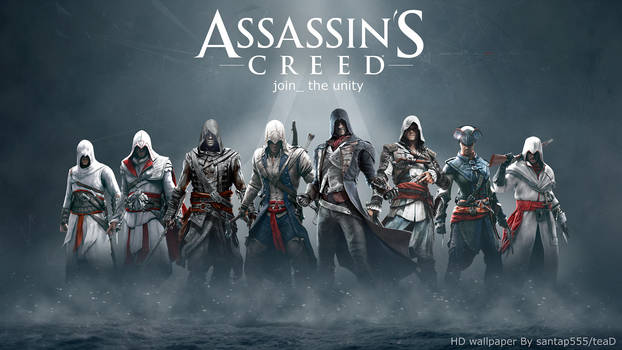 Assassin's Creed HD wallpaper by teaD by santap555