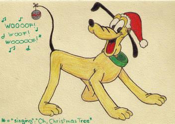 Christmas Pluto by MoonyMina