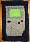 Gameboy Dice Mat - Jacquard Knitting Test by MoonyMina