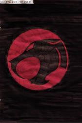 Inktober #27 - Thunder by MoonyMina