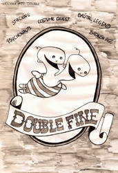 Inktober #29 - Double by MoonyMina