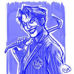 Joker  Speed Drawing by Soliduskim