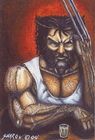 Wolverine is Pensive by Sniktchick
