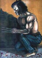Logan on the Hunt by Sniktchick