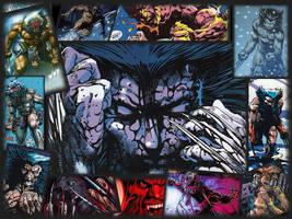 Wolverine Weapon X Wallpaper by Sniktchick