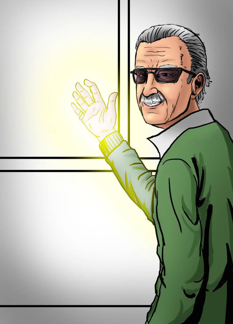 RIP Stan lee by NetherFrog