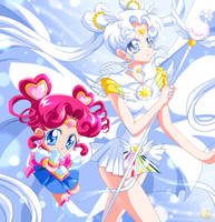 SAILOR COSMOS by KagomesArrow77
