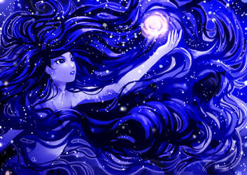 Blue Magic by KagomesArrow77