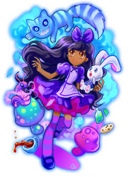 Alice in Wonderland by KagomesArrow77